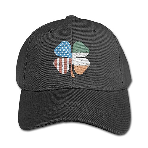 Elephant AN Clover American Flag Pure Color Baseball Cap Cotton Adjustable Kid Boys Girls Hat