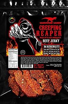 "JURASSIC JERKY'S ""CREEPING REAPER"" Beef Jerky"