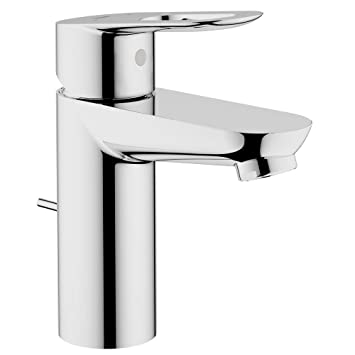 grohe 23084000 bauloop single handle bathroom faucet touch on