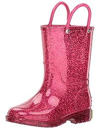 Western Chief Kids Girl's Glitter Rain Boot