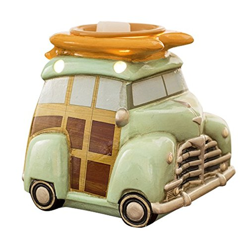 Surf Woody Wagon Scented Wax Cube Warmer made our list of Camping Gifts For Mom Fun And Unique Mother's Day Gift Idea Guide For Camping Moms