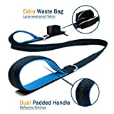 Free Paws Double Dog Leash ︱ No Tangle Dog Walking leash for 2 Dogs with Comfortable Adjustable Dual Padded Handles, Bonus Pet Waste Bag