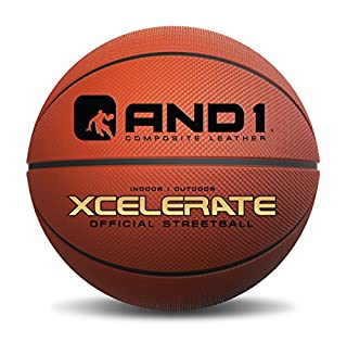 AND1 Xcelerate Rubber Basketball: Game