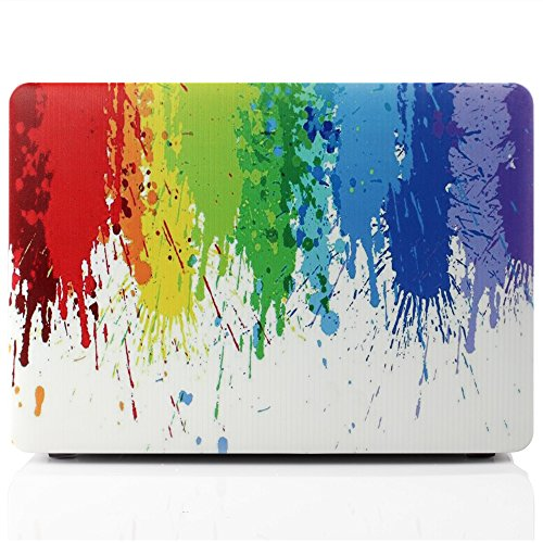 MacBook Pro 13 inch with Retina Display Case,iDOO [Paint - Import It All