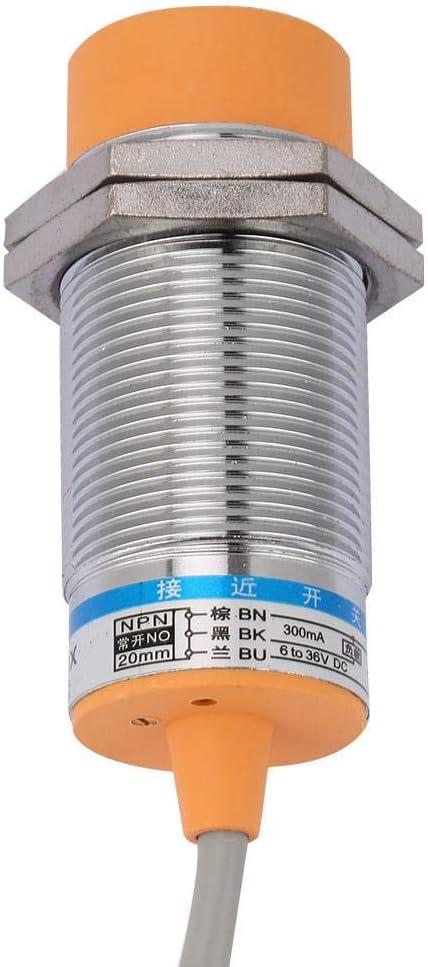 DC 2-Draht Schlie/ßer Induktiver N/äherungsschalter 2 mm Erfassungsabstand LJ8A3-2-Z//EX Induktiver N/äherungsschalter