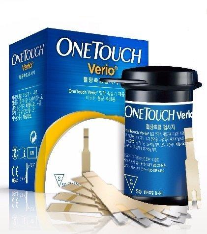 Lifescan One Touch Verio Diabetic Test Strips ( 1 Box - 50 Ct )