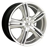 audi a6 quattro wagon 2001 rims - Ion Alloy 161 Hypersilver Wheel with Machined Face (15x7)