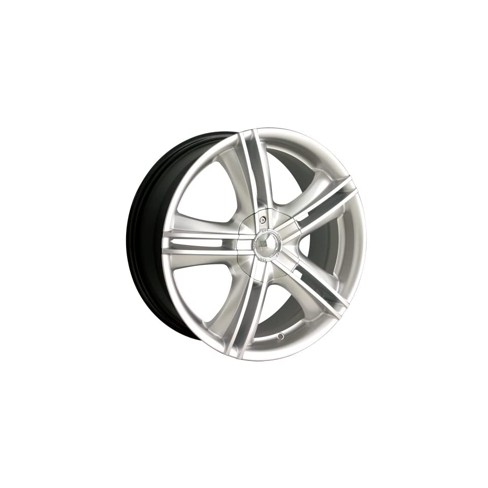 Ion Alloy 161 Hypersilver Wheel with Machined Face (15x7)