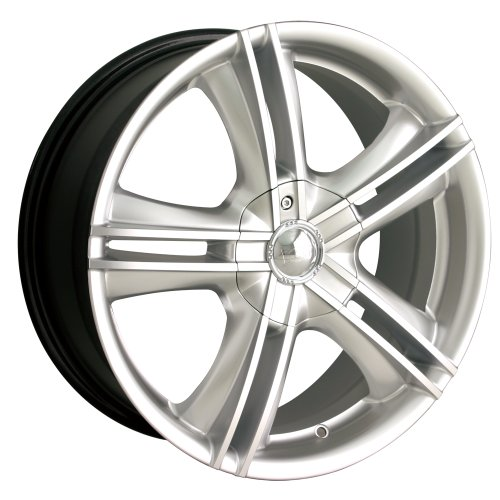 Ion Alloy 161 Hypersilver Wheel with Machined Face (16x7) (Alloy Lexus Ls430 Wheel)