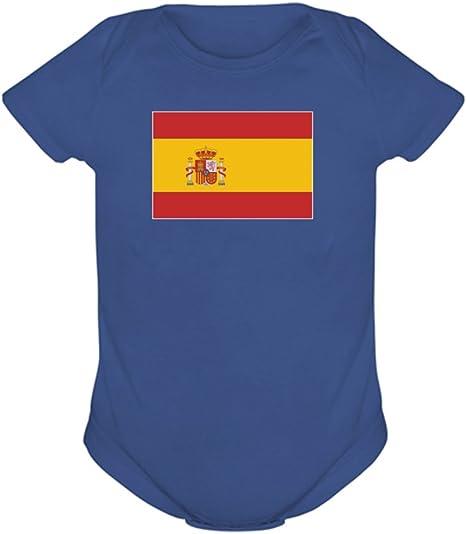 Body de la bandera de España Stahlblau Talla:24M: Amazon.es: Bebé