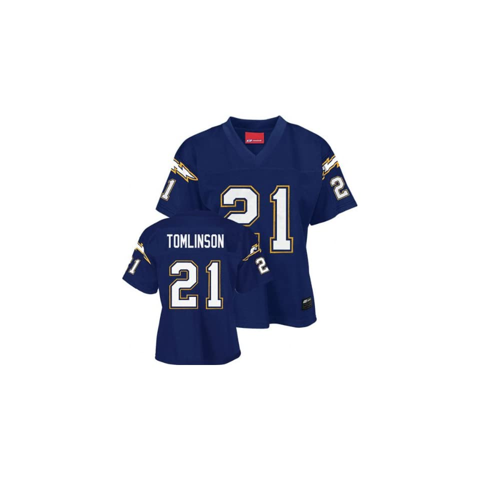 Reebok NFL Authentic San Diego Chargers Womens Jersey Clothing