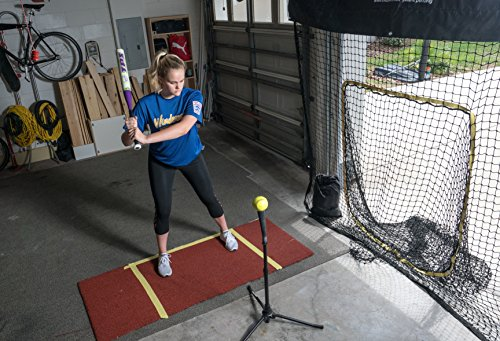 Baseball & Softball Practice Net with Strike Zone Target and Endorsed by Johnny Damon by Hitzem