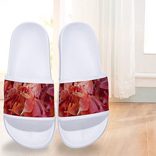 W Slip Mens Womens Quick Slippers Maple Leaves Slippers for Drying Non Buteri xAqfRA