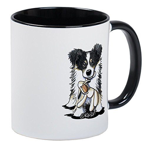 CafePress Tri-Color Border Collie Mug Unique Coffee Mug, Coffee Cup