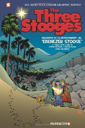 Download The Three Stooges Graphic Novels #2: Ebenezer Stooge pdf epub