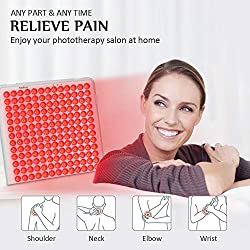 Serfory Red Light Therapy Device, Therapy Light Deep 660nm for Muscle Pain Relief, Improved Blood Circulation and Skin