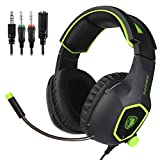 SADES SA818 New Version Xbox One PS4 PC Gaming Headset Game Headphones