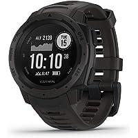$168 » Garmin 010-N2064-00 Instinct, Rugged Outdoor Watch with GPS, Features GLONASS…