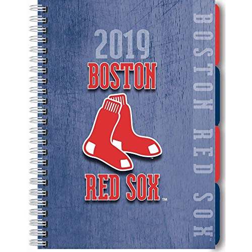 Boston Red Sox 17-Month 2019 Tabbed Planner