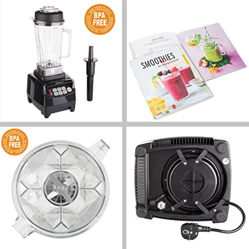 Ultratec Power 2 - Licuadora, sin BPA, 1500 W, 32.000 rpm, con 6 ...
