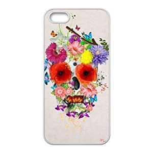 Custom Colorful Case for iphone 4s, Skull Cover Case