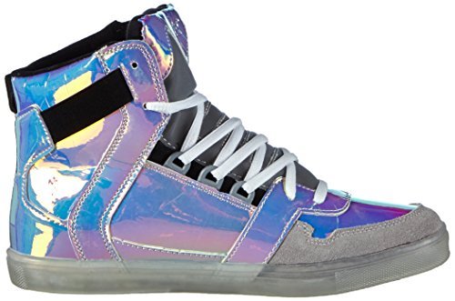 Nat-2 Cube 4 Damen Hohe Sneakers, Mehrfarbig (snake iridescent glow in the dark), 36 EU