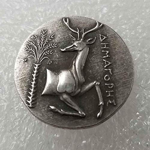 MarshLing Old Greek Commemorative Coins - Collectible Silver Coin - Greek Mythology - Greek Goddess Great Old History Coin-Discover History of Coins Perfect Quality