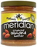 Meridian Natural Crunchy Almond Butter 170 g (Pack of 3)