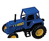 Tractor- Die Cast Metal - Pull Back and Go - (BLUE)