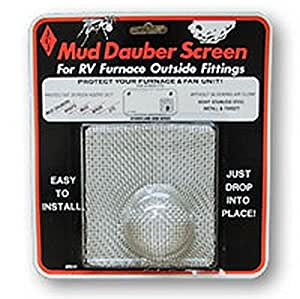Amazon.com: RV Trailer Mud Dauber Screen Furnace Square