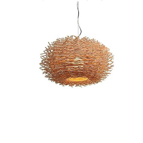 H.L Creative Birds Nest Colgante Luz Personalidad ...