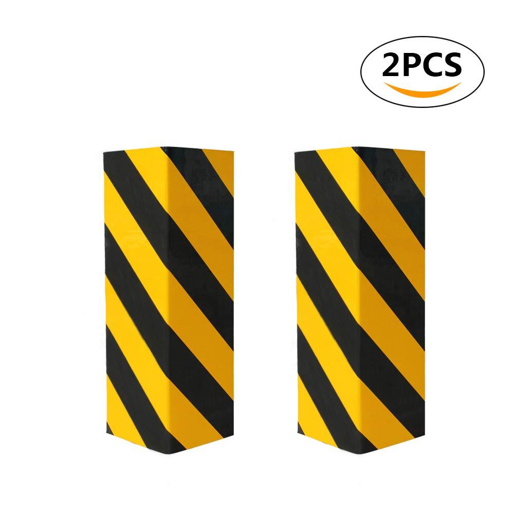 Protector de aparcamiento para coche, protector de esquina de advertencia de pared para garaje, protectores de parachoques y goma antiarañ azos protectores de parachoques y goma antiarañazos DENGYUE