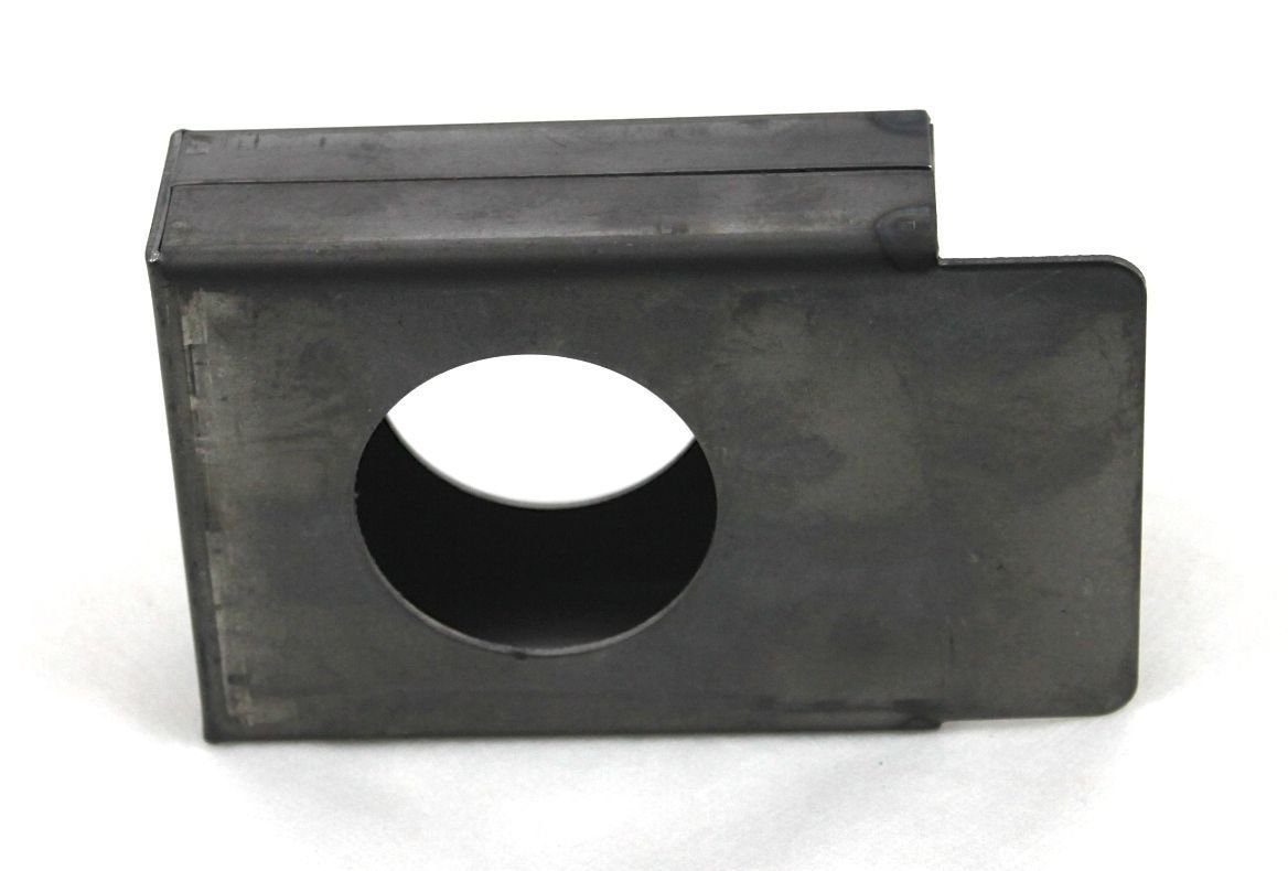 Gate Lockbox Single Hole Weldable Steel 3 1/2'' x 4 1/4'' x 1 1/2'' Unpainted