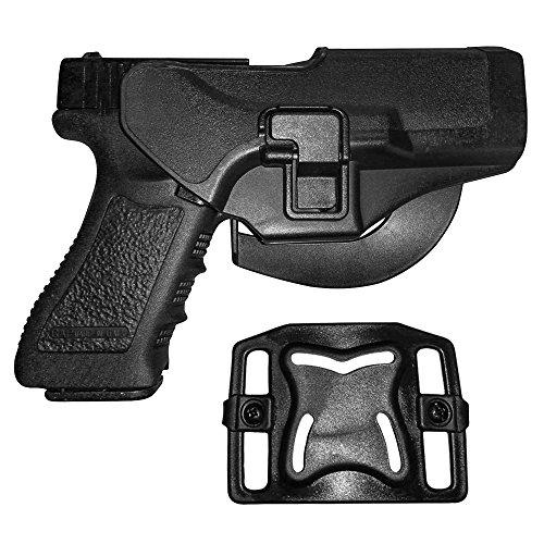 Holster de Ceinture - IMAGE Etui de Revolver pour Glock 17/22/31 - conçu pour Main droite - Holster de Pistolet, Airsoft… 1
