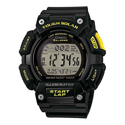 Casio Men's STL-S110H-1CCR Tough Solar Runner Digital Black Watch Casio