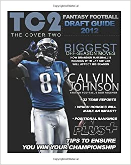 Book The Cover Two: 2012 Fantasy Football Draft Guide