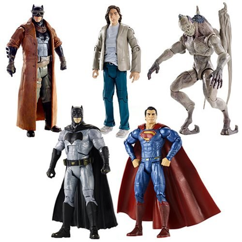 Batman v Superman Movie Masters Wave 4 Action Figure Case