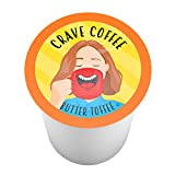k cup coffee toffee - Crave Coffee Single-Cup Coffee for Keurig K-Cup Brewers, Butter Toffee, 40 Count