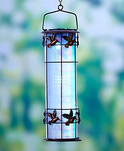 Prism Outdoor Solar Hummingbird Lantern