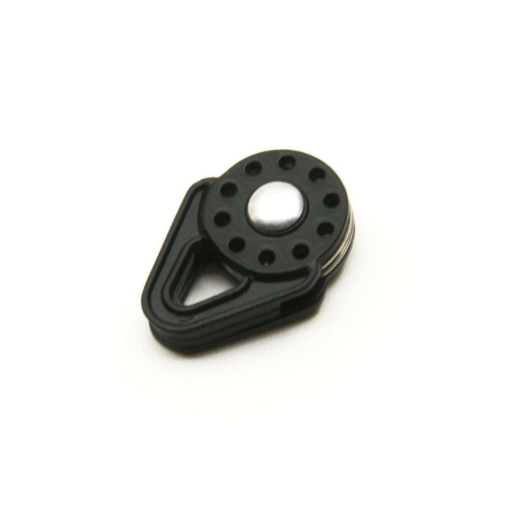 Jack-Store Heavy Duty Winch Snatch Block for SCX10 1:10 RC Car Crawler Black