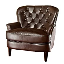 Raymond Brown Leather Chair