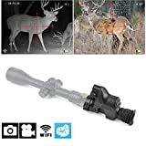 Digital Night Vision- 1080p HD WiFi Camera Camcorder Function Night Vision Scope Including 32G SD Portable Day&Night Mode for Hunting Night Vision or Observation Multi-functional