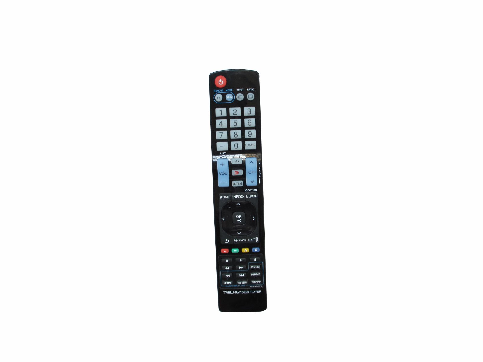 HCDZ Universal Replacement Remote Control For LG BP420K BP540 BP530R BD610 BD611 BD620C Network Blu-ray BD DVD Disc Player