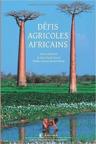 Téléchargement Défis agricoles africains epub pdf