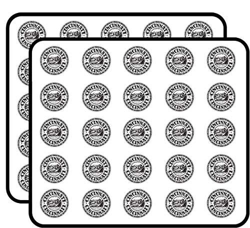 Cincinnati City United States Grunge Travel Sticker for