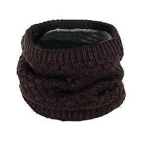 BESTOYARD Collo Sciarpa Donna inverno maglia Cercio Crochet sciarpa scialle copricollo scaldacollo 5