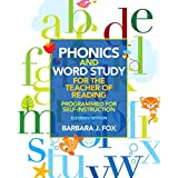 Phonics and Word Study for the Teacher of Reading: Programmed for Self-Instruction