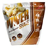 Meal Replacement Smoothie Powder, Power Shake, Vanilla 3.8 Lbs by Power Blendz Review