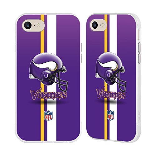 - Official NFL Helmet Minnesota Vikings Logo White Fender Case for Apple iPhone 7 / iPhone 8