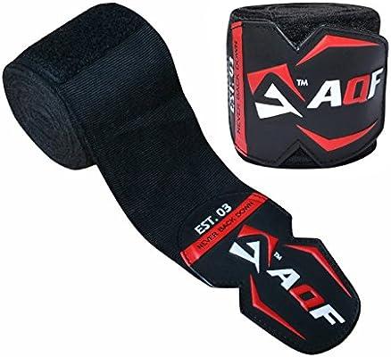 AQF Vendas Boxeo De 4.5m Guantes Interiores para MMA Boxeo Vendas Elásticas para Entrenamiento Muay Thai: Amazon.es: Deportes y aire libre